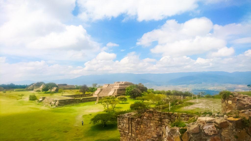 Маршрут по Мексике Монте-Альбан