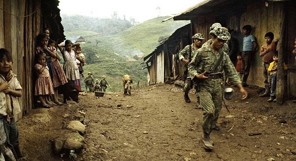 Карательные отряды в деревне майя