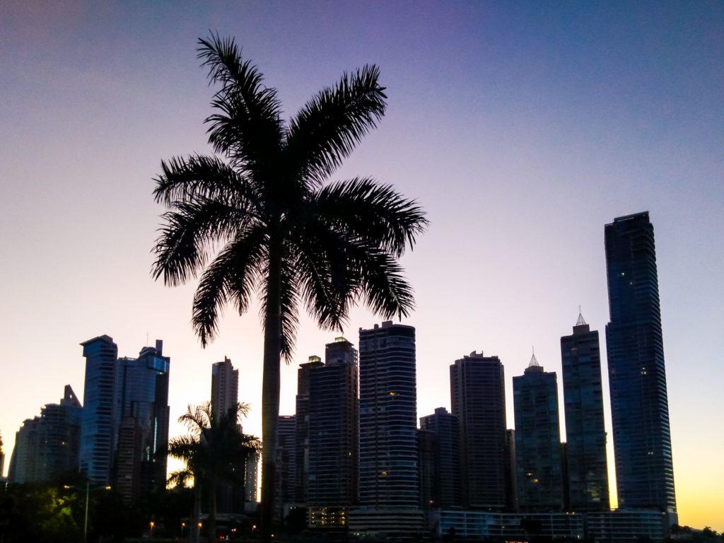 Панама закат