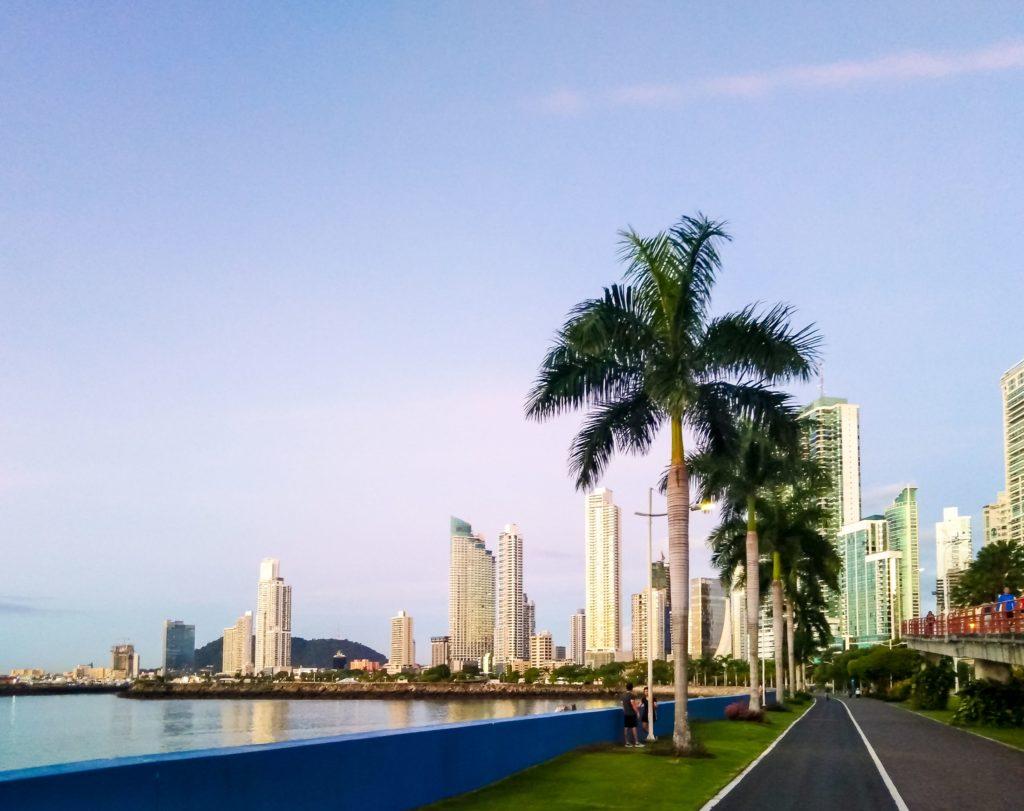 Панама сити рассвет