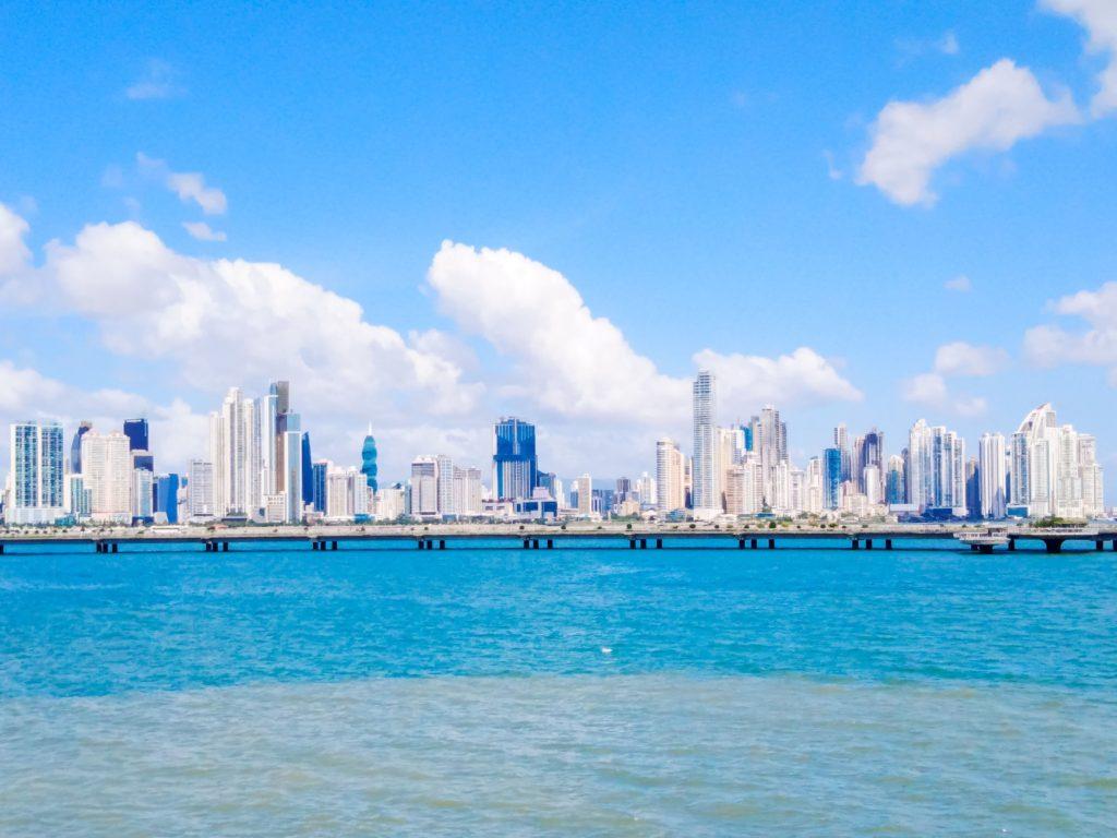 Вид на Панаму из Каско Вьехо