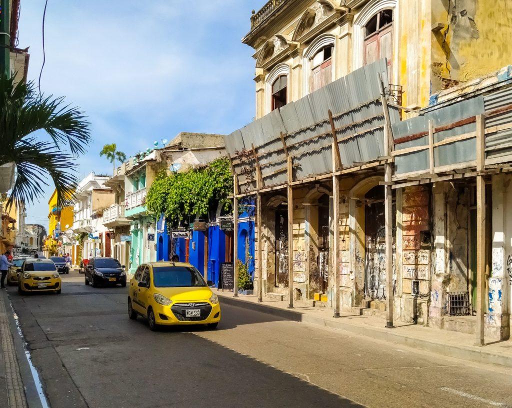 Улочки старого города Картахены