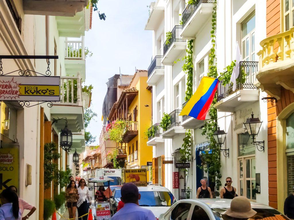 Картахена, улочки старого города