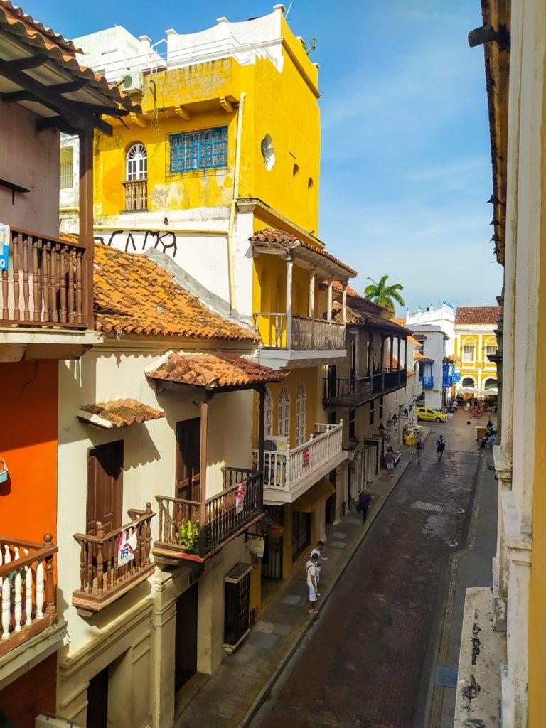 Картахена узкие улочки города