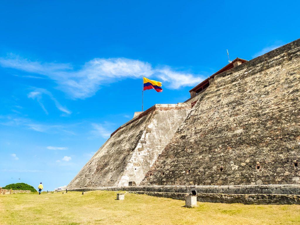 Крепость Сан-Фелипе-де-Барахас стены