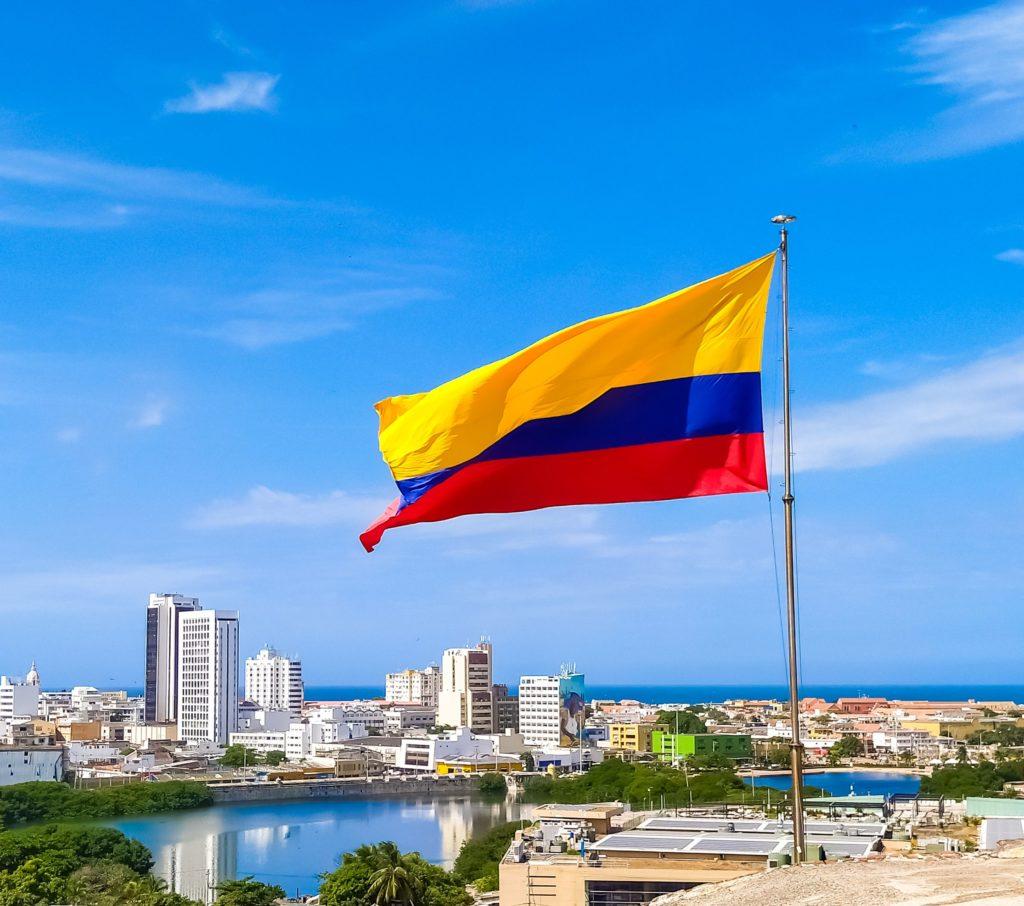 Картахена Колумбийский флаг