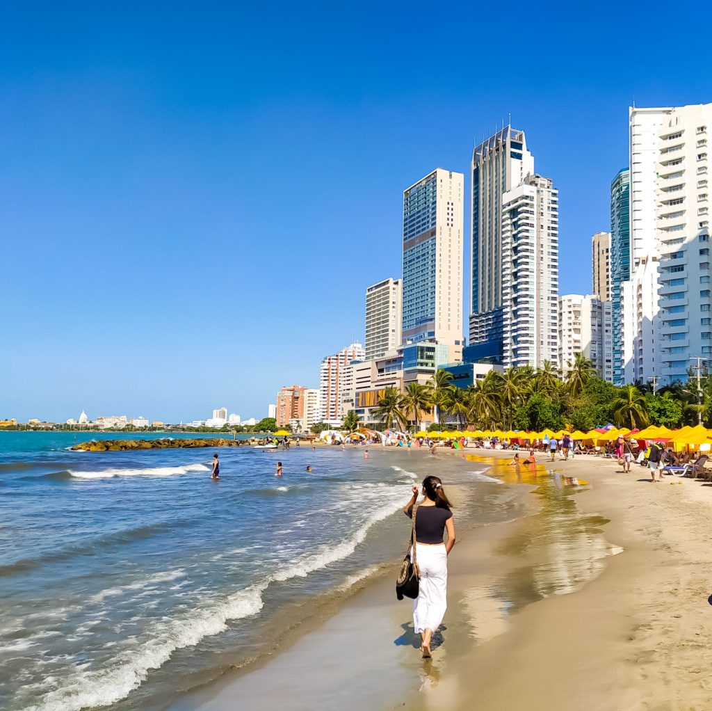 Колумбия пляжи Картахены