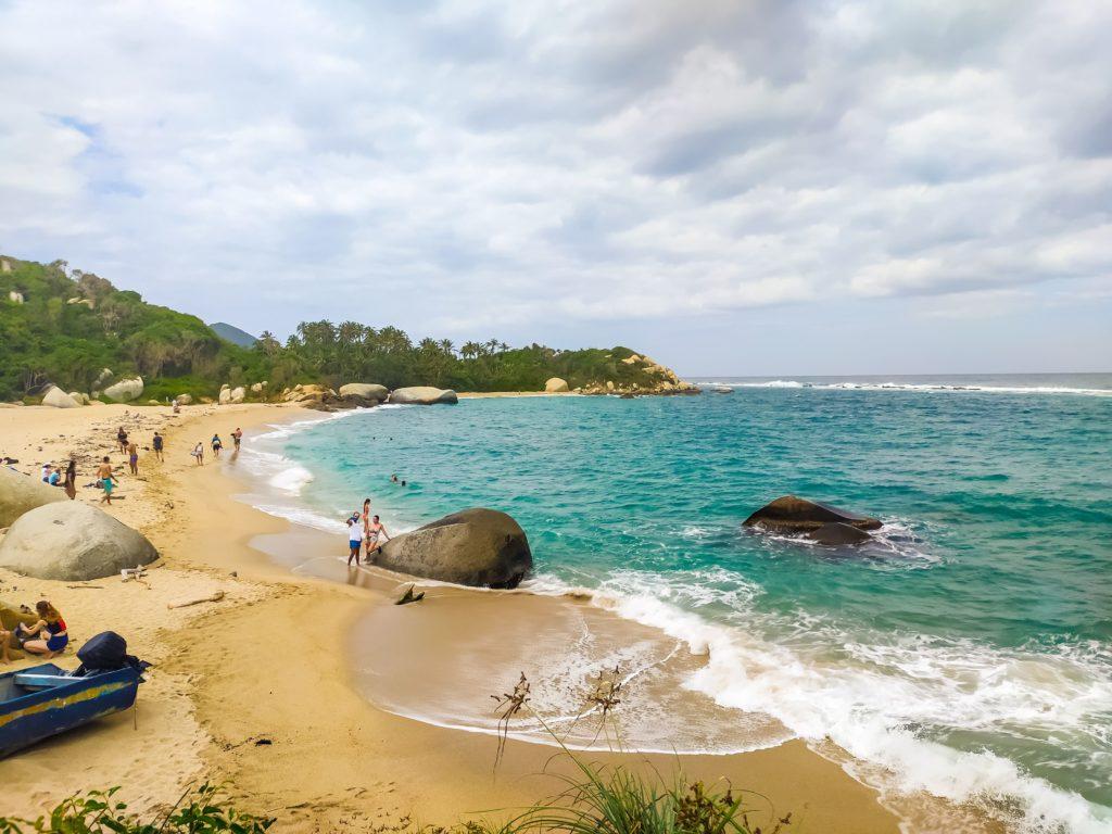 Парк Тайрона пляж La Piscina