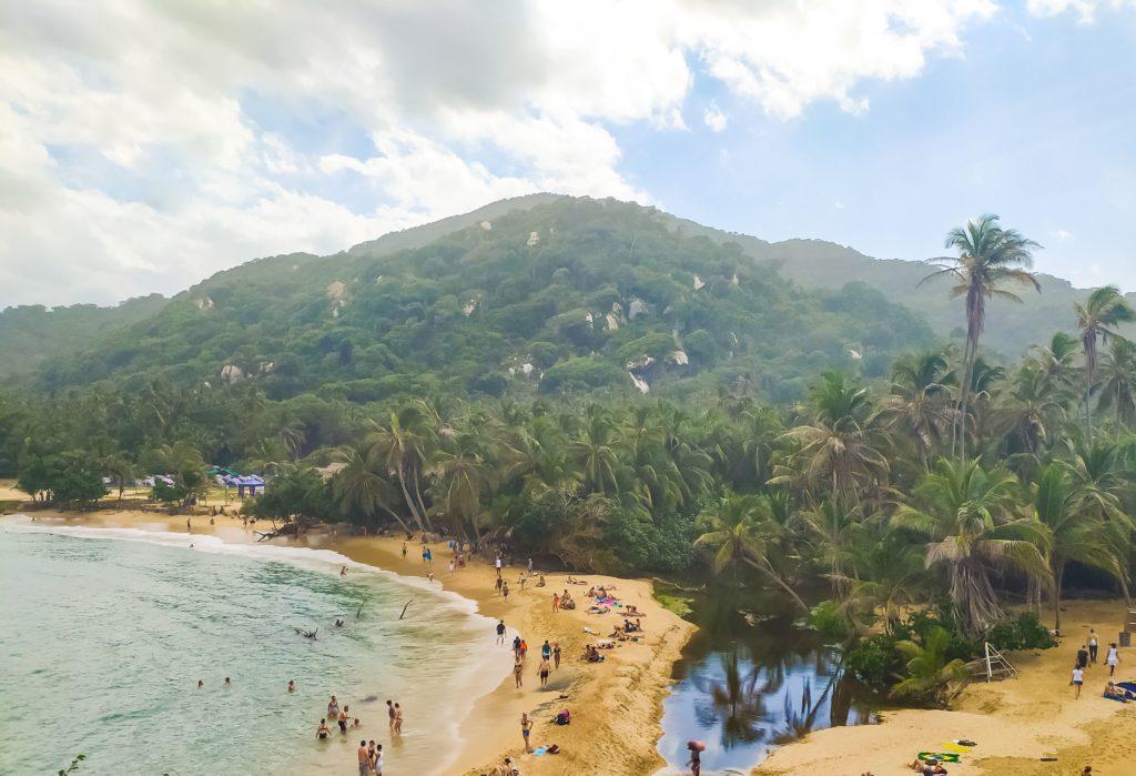 Пляж Сан-Хуан вид сверху