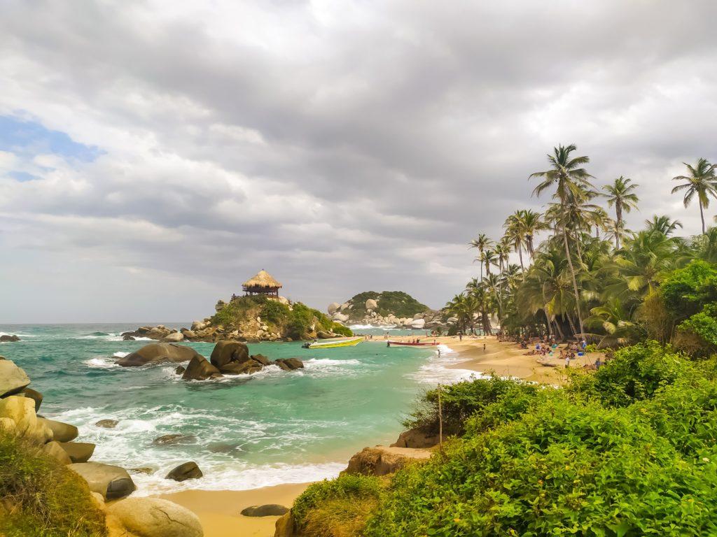 Парк Тайрона вид на пляж Сан-Хуан