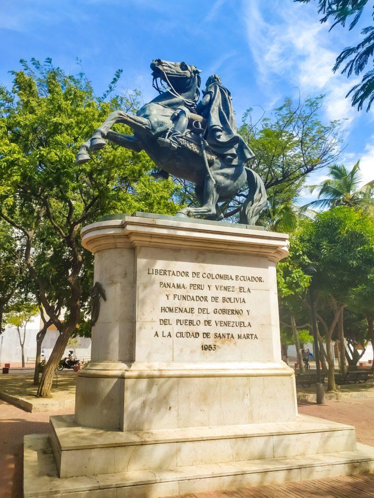 Пямтник Симону Боливару
