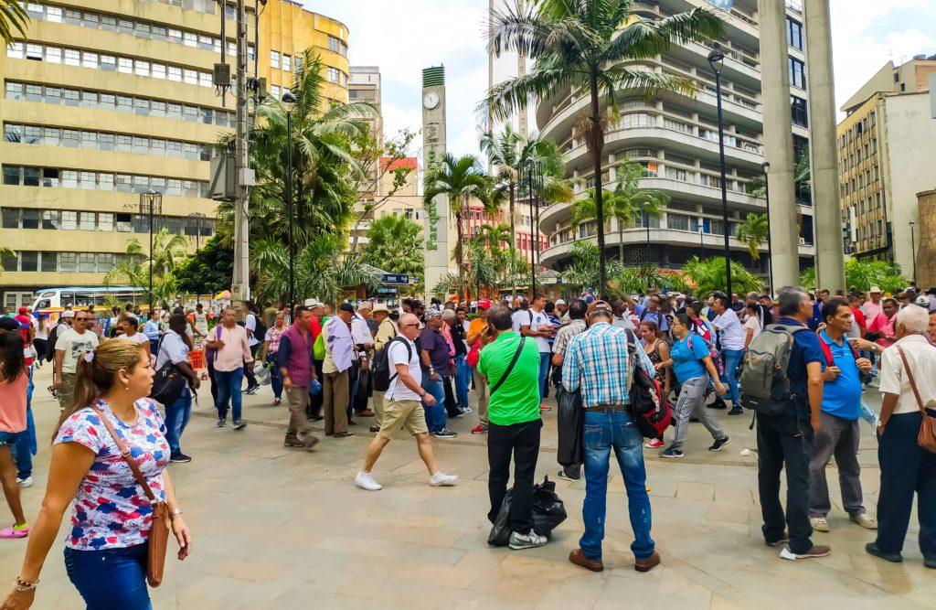 Исторический центр Медельина