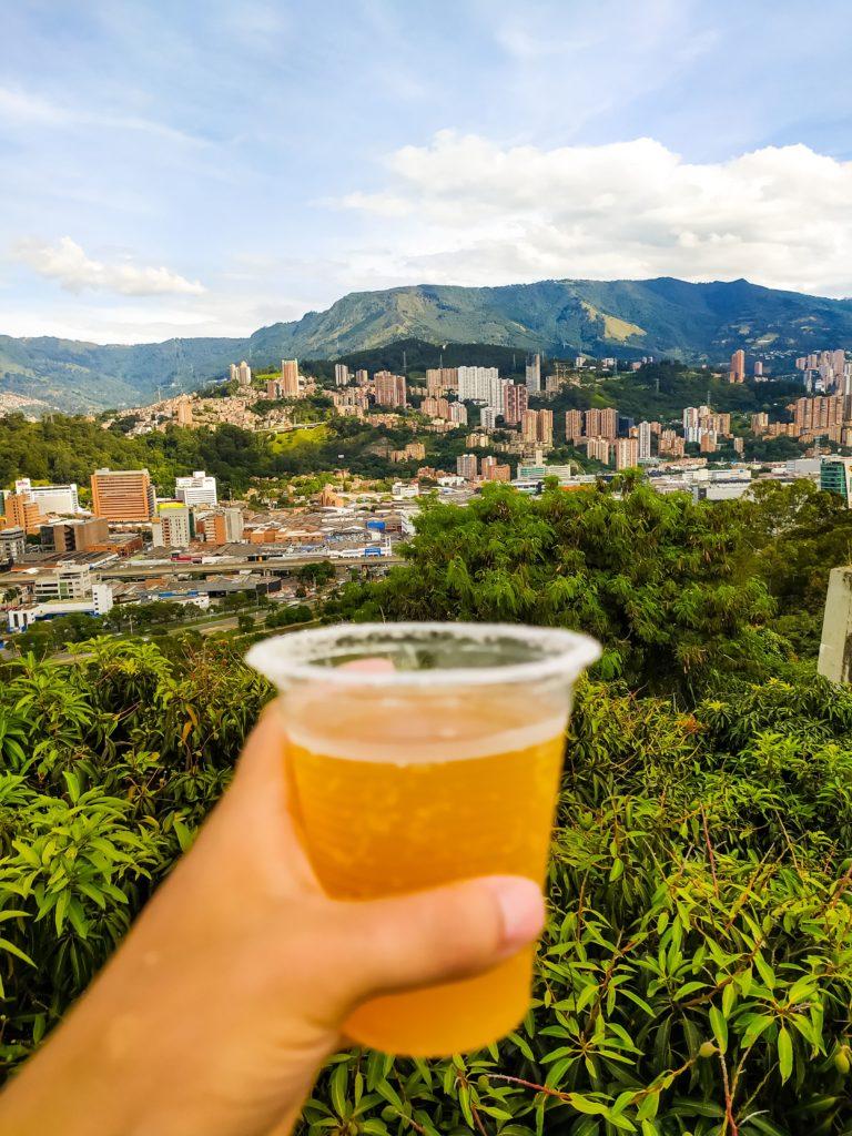 Пиво в Медельине