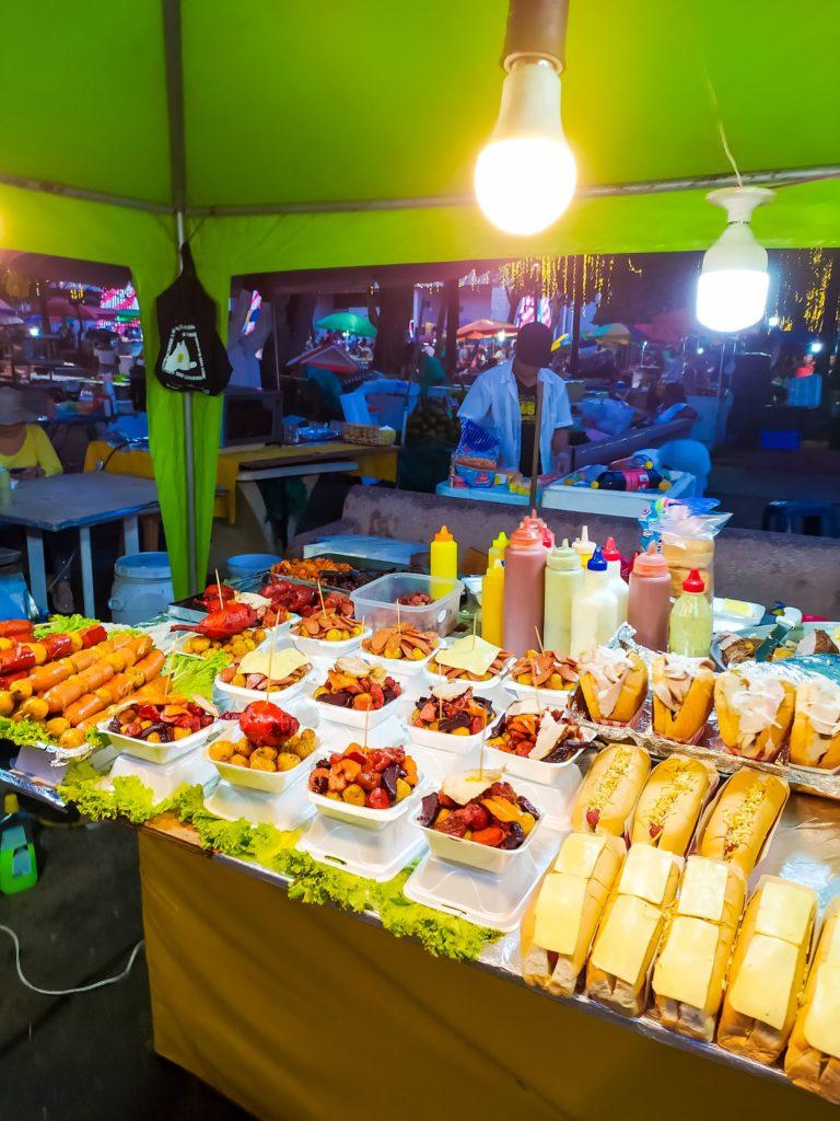 Кали уличная еда
