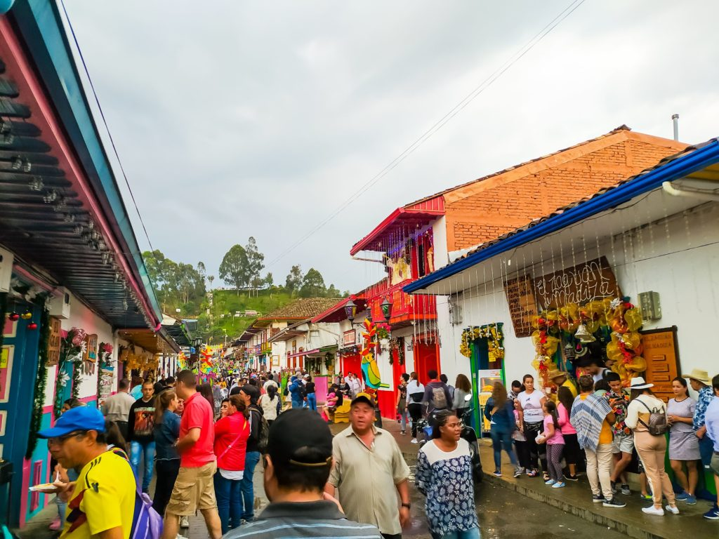 Саленте улица Calle real