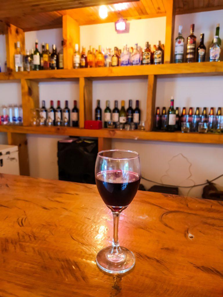 Вино в хостеле Саленто