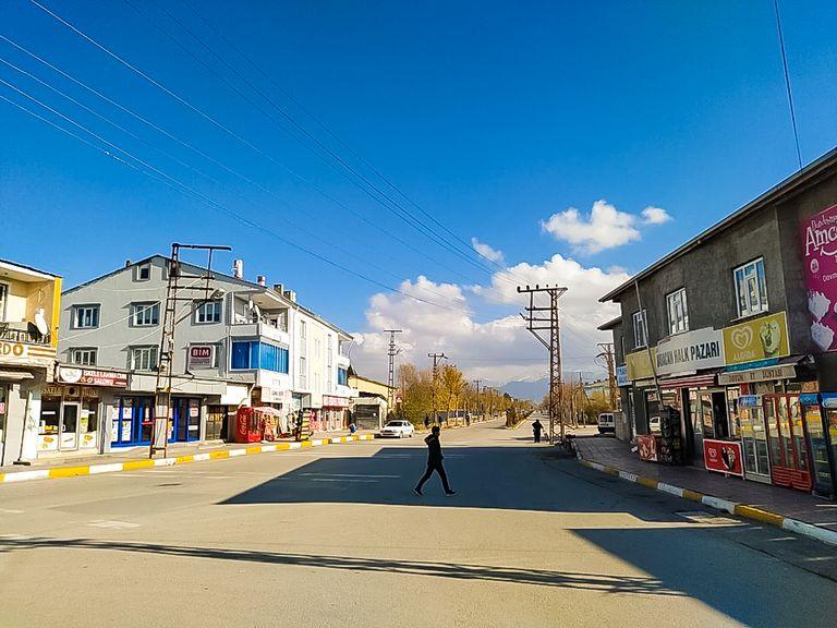 Улицы города Ван