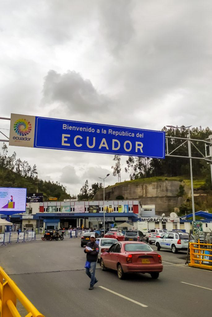 Граница Эквадора и Колумбии