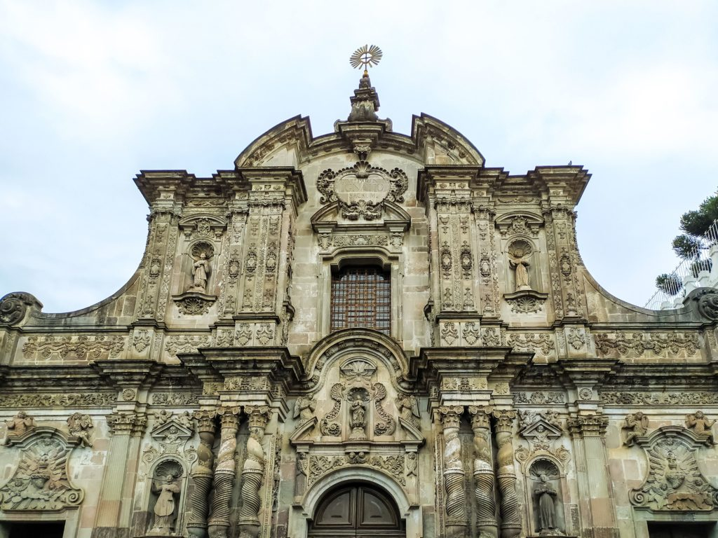 Церковь Общества Иисуса (La Compañía de Jesús