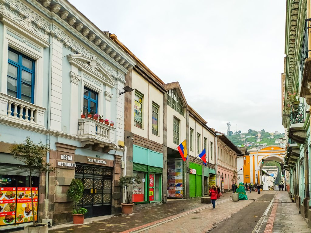 Кито городские улицы