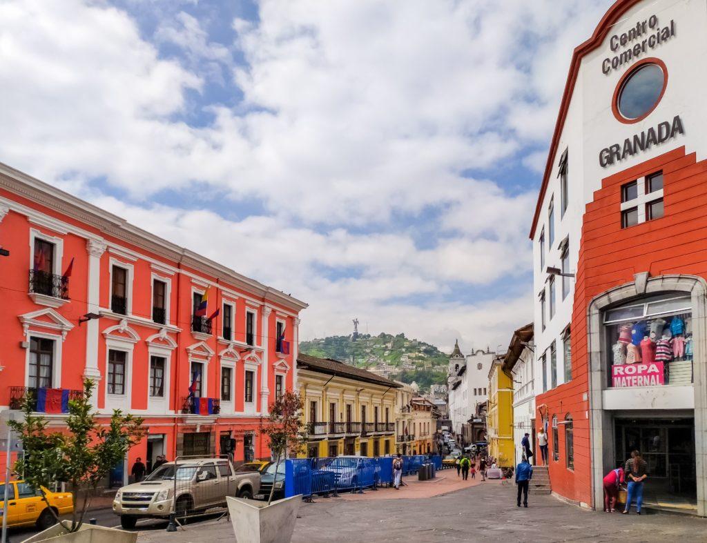 Кито улочки города