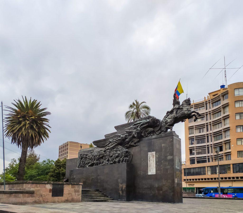 Кито памятнки Боливару