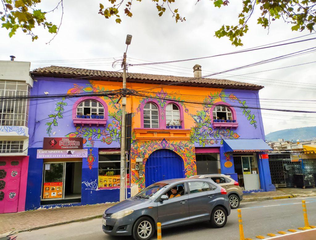 Район Марсикаль в Кито