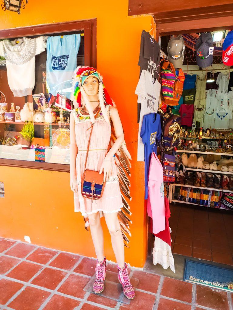 Суверниный магазин в Кито
