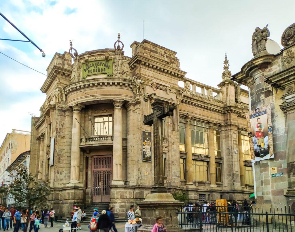 Кито здание Национального банка