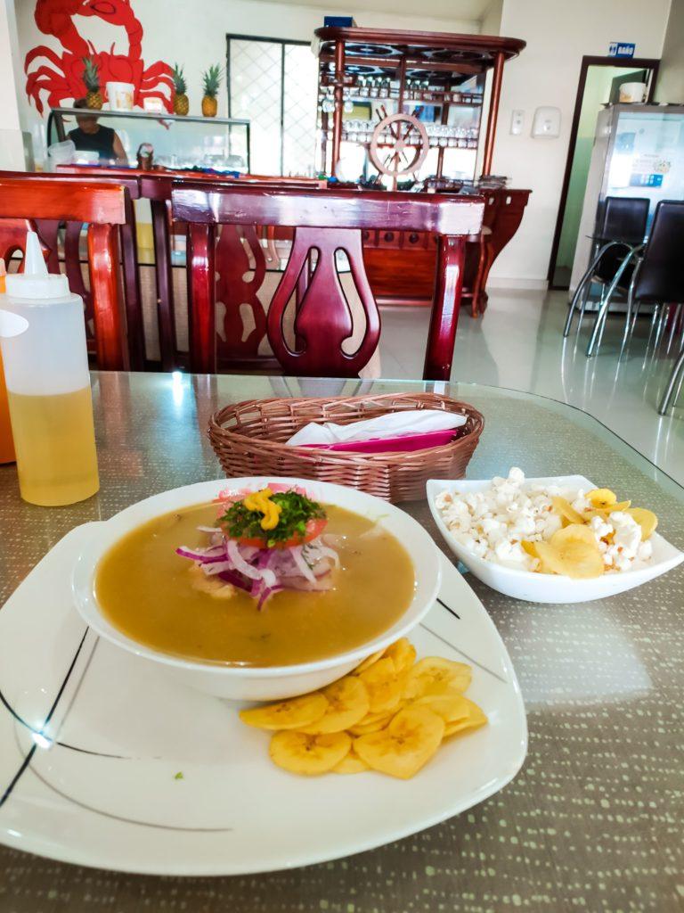 Кухня Эквадора энсебойядо