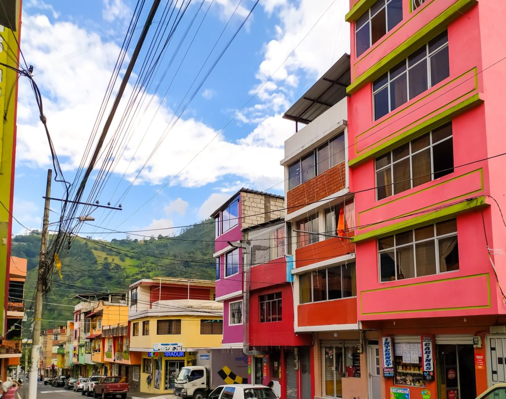 Баньос центральная улица