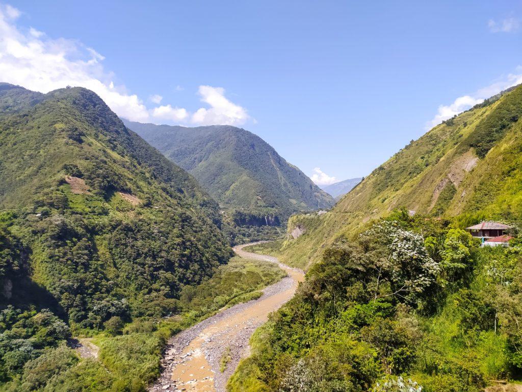 Баньос дорога Водопадов