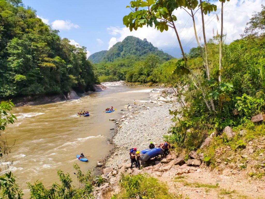 Рафтинг в Амазонии