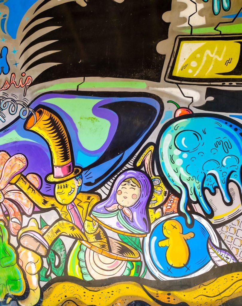 Монтанита граффити