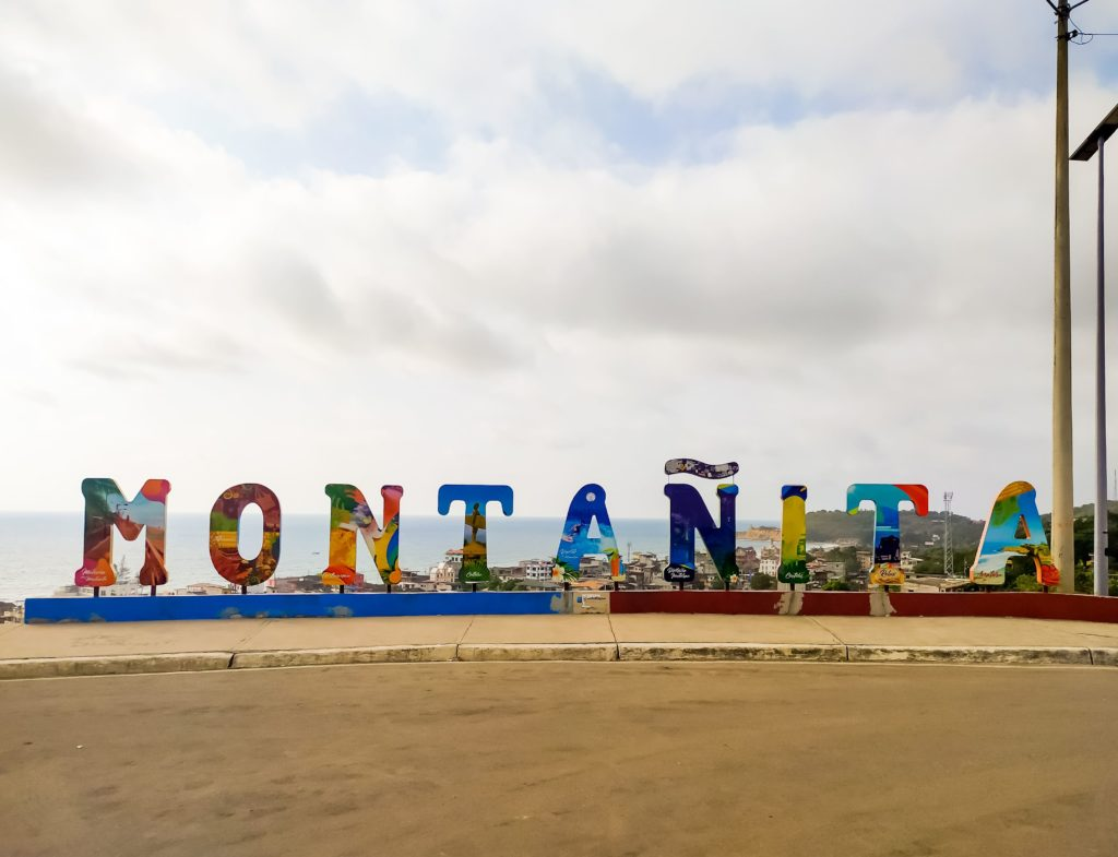 Надпись Montanita